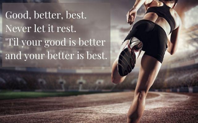 never let it rest